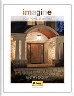 Imagine your home reinvented with a Clopay Entry Door