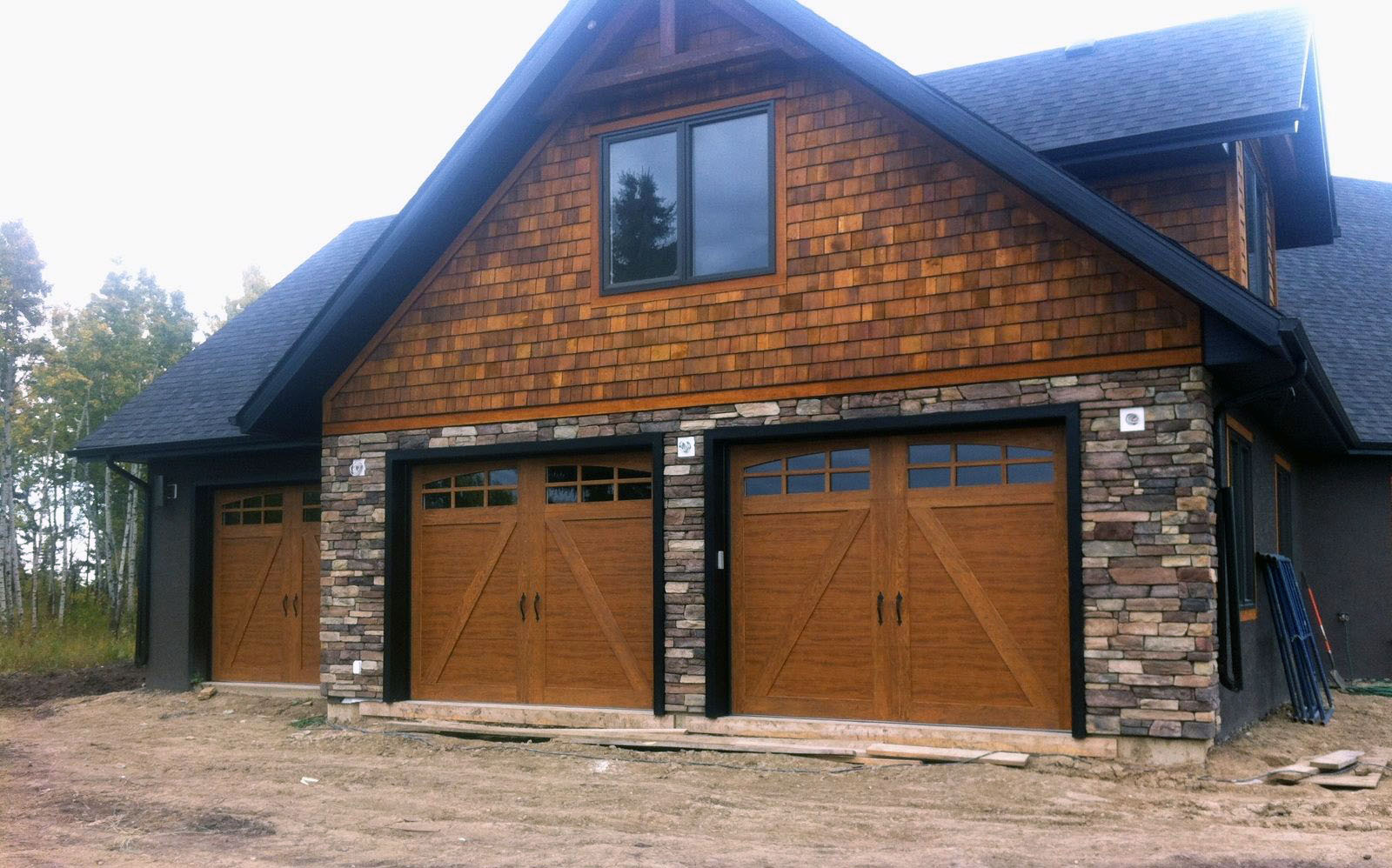 Clopay garage door installation Alberta